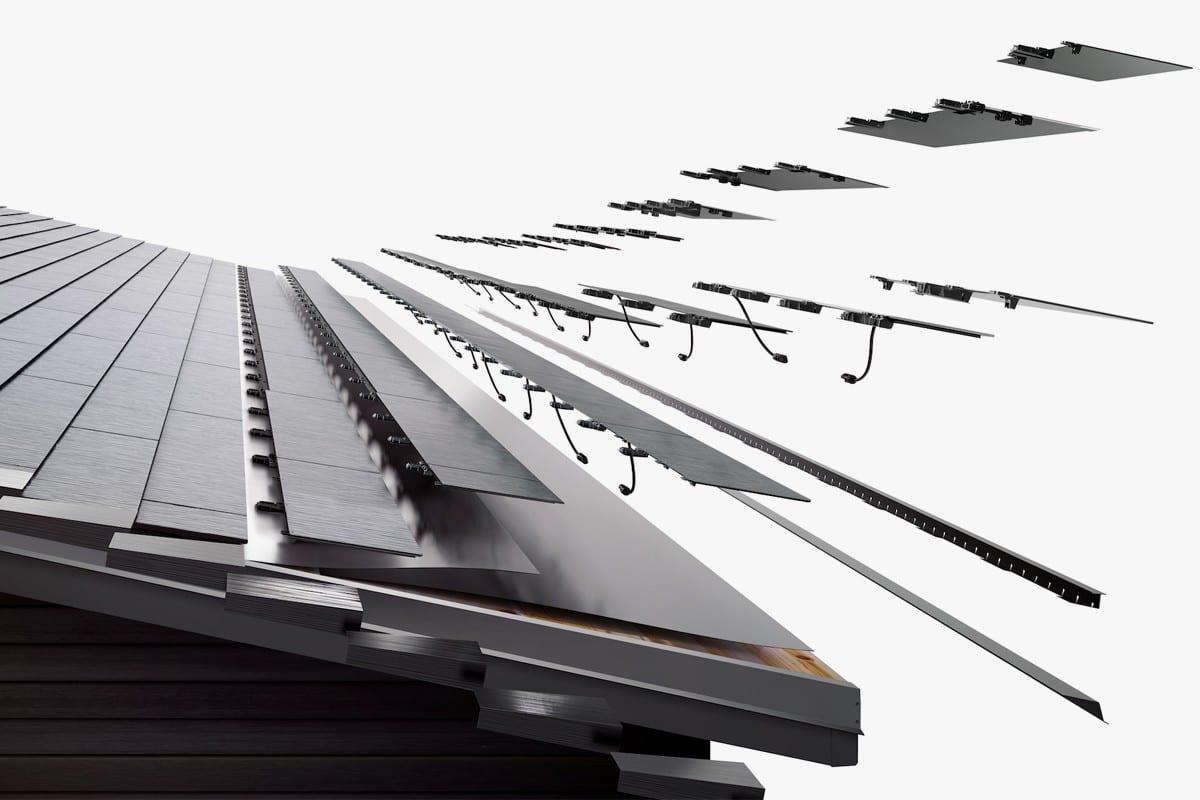 H νέα πιο προσιτή Tesla V3 Solar Roof