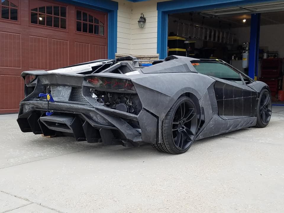 Μια Lamborghini με 3D-printed κομμάτια