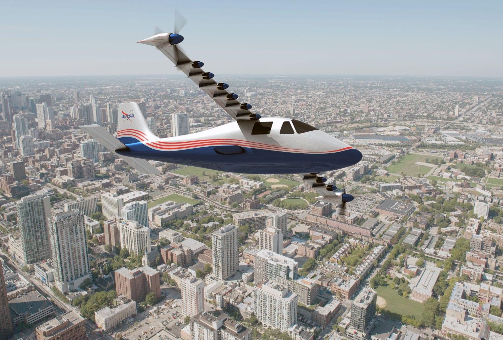 "NASA X-57 ""Maxwell"" Ηλεκτρικό Αεροσκάφος"