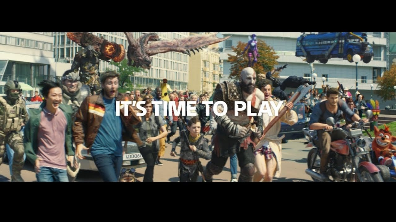 It's Time to Play – PS4