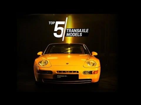 Porsche Top 5 Series – Transaxle Models