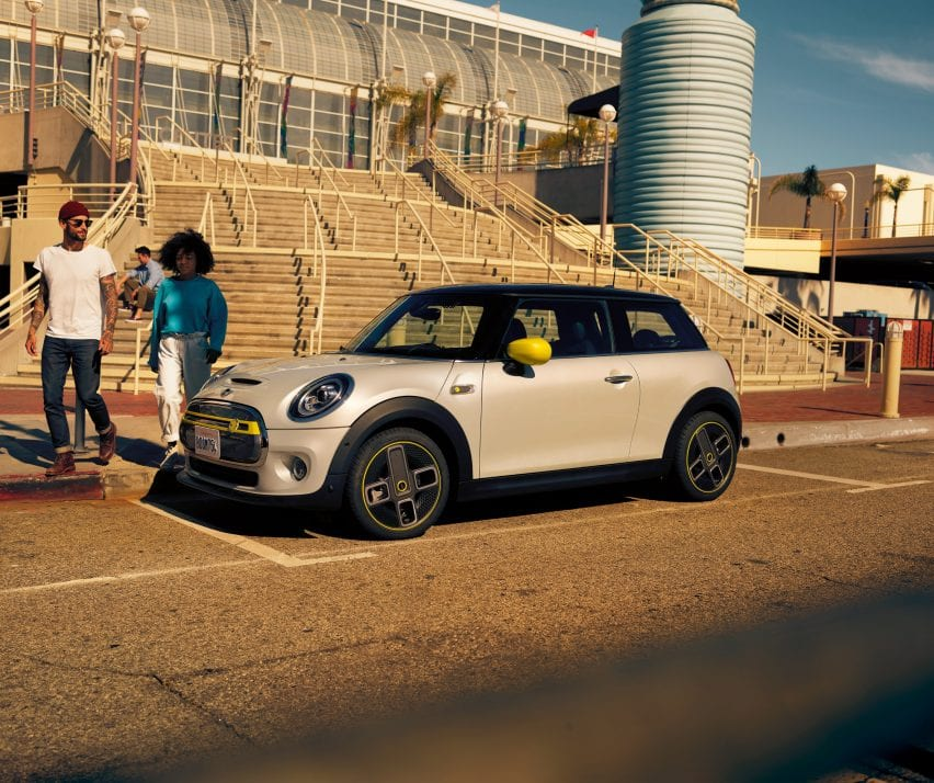 The first all-electric MINI
