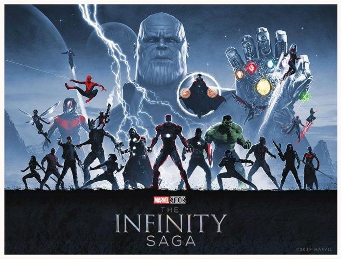 Infinity Saga Box Set 4K Blu Ray