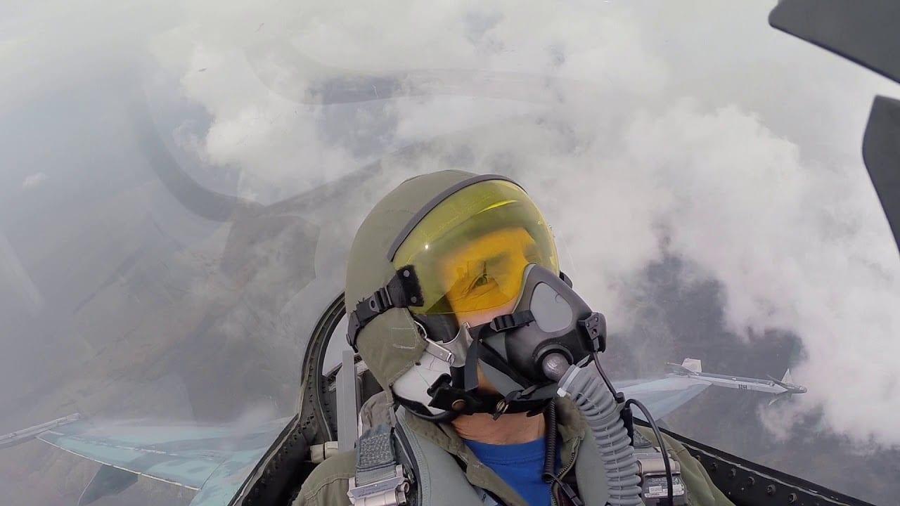F-16 Cloud Surfing