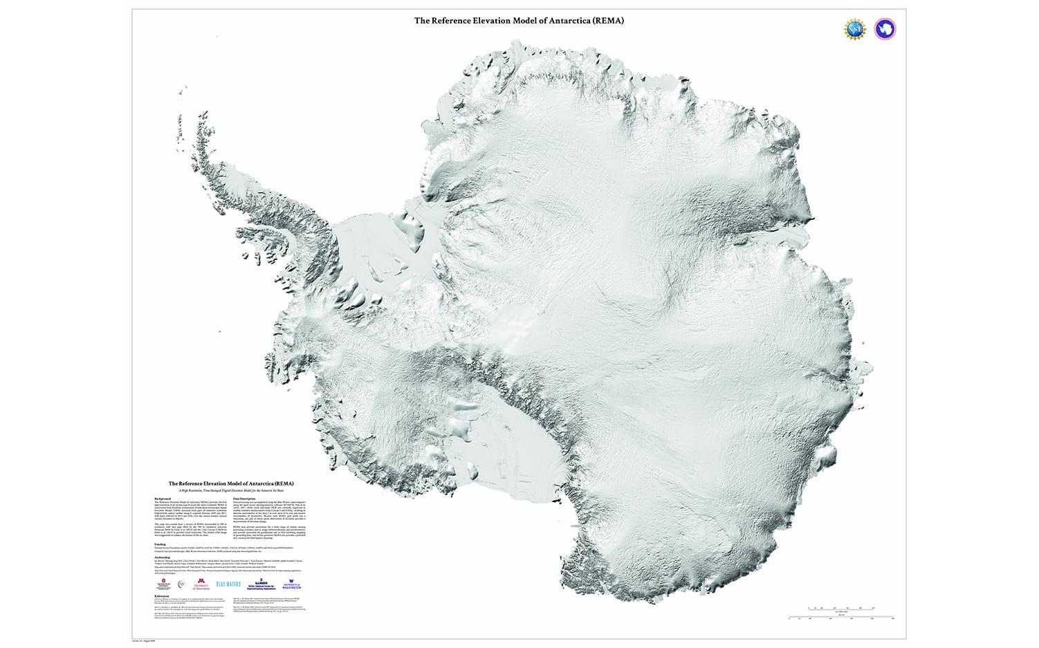 Το μεγαλύτερο φαράγγι στη Γη στην Ανταρκτική