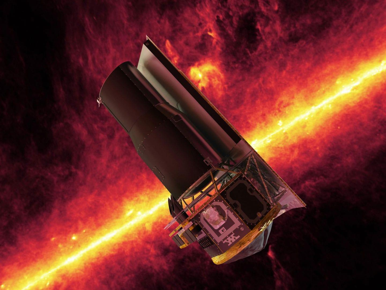 Τα εντυπωσιακά στοιχεία του Spitzer Space Telescope