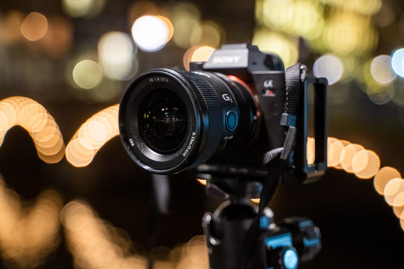 Νέος Sony G Lens FE 20mm F1.8 G