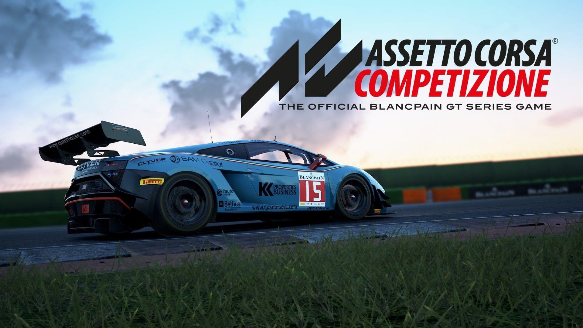 Assetto Corsa Competizione τώρα και για κονσόλες