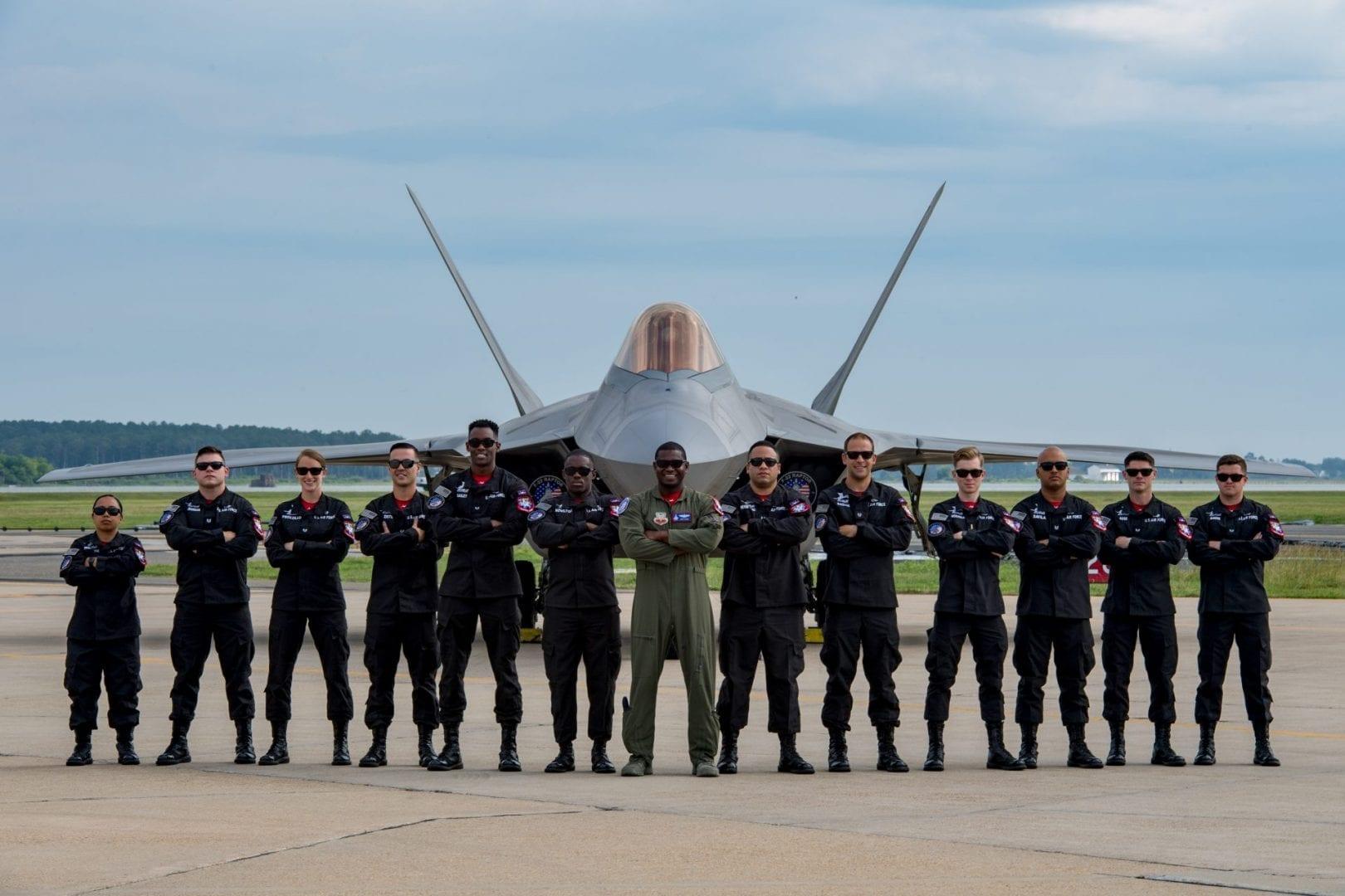 Full F-22 Demo