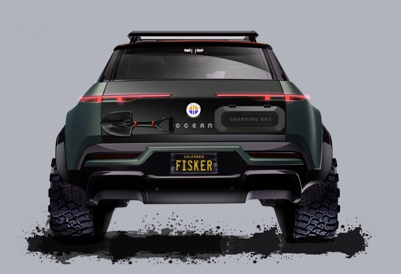 Fisker Ocean Adventure Concept SUV