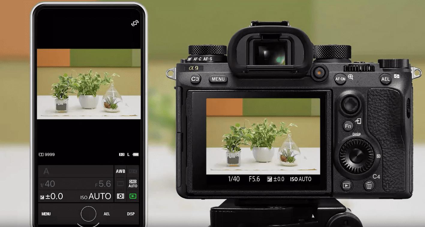Κινητά iOS και Android + φωτογραφία με Imaging Edge Mobile