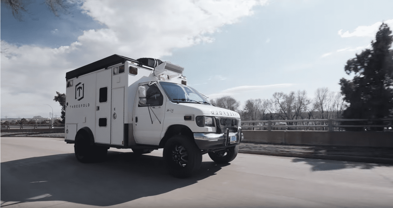 Από ασθενοφόρο Camera Grip Truck