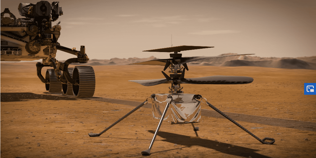 Ingenuity – Το ελικόπτερο του πλανήτη Άρη