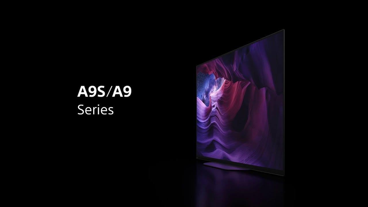 Οι νέες Sony BRAVIA A9S/A9 MASTER Series 4K HDR OLED τηλεοράσεις
