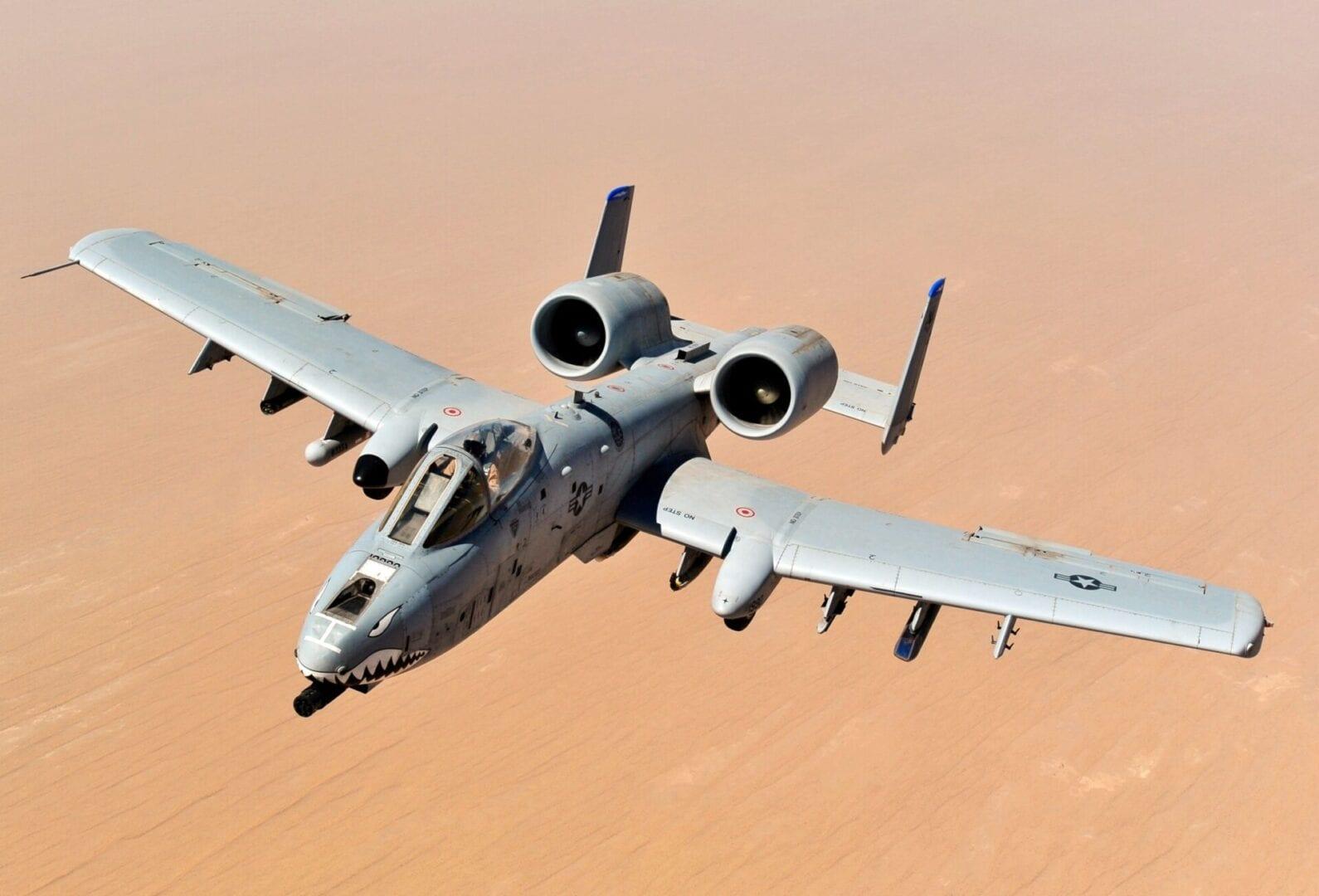 H απίστευτη τεχνολογία του A-10 Warthog