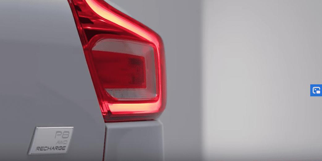 2020 EV Volvo XC40 Recharge