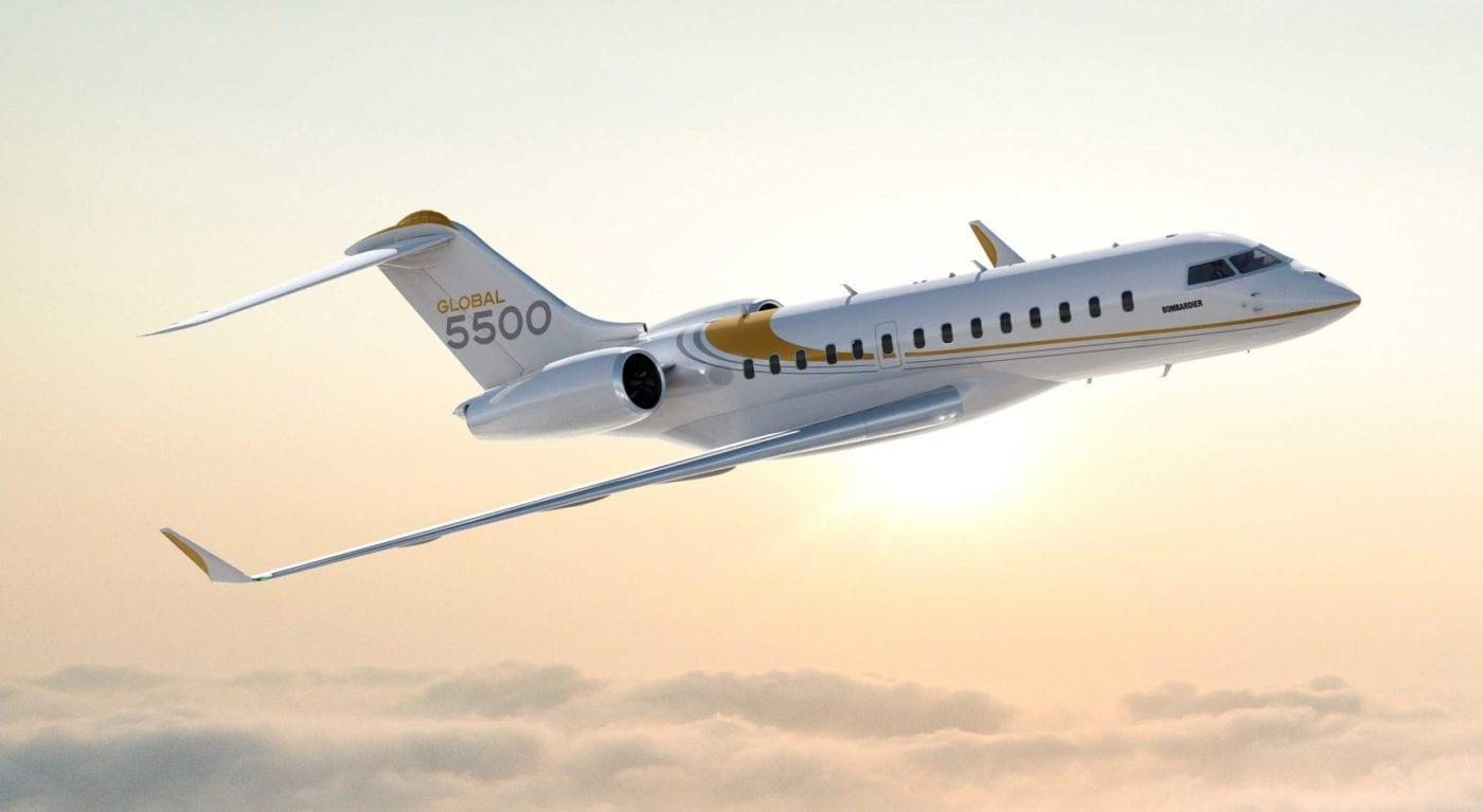 Bombardier Global 5550