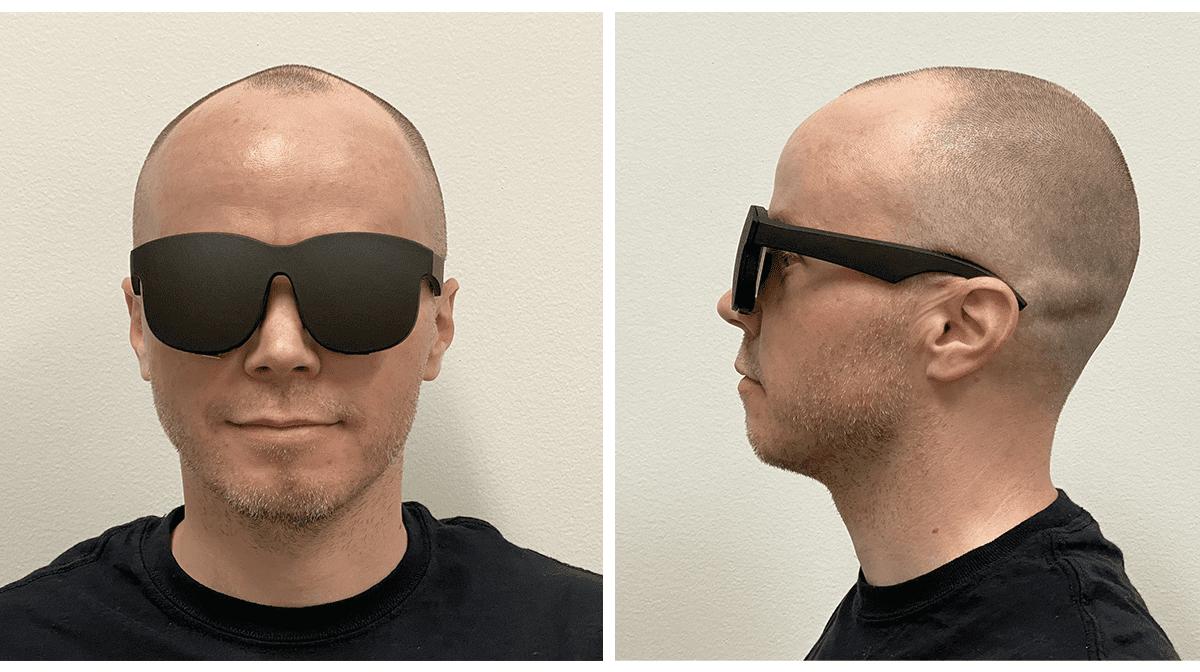 Νέα, απίστευτα στενά Facebook VR γυαλιά