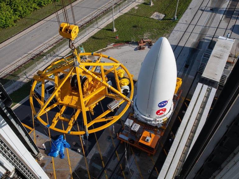 Η NASA έχει τοποθετήσει το Perseverance rover στον Atlas V