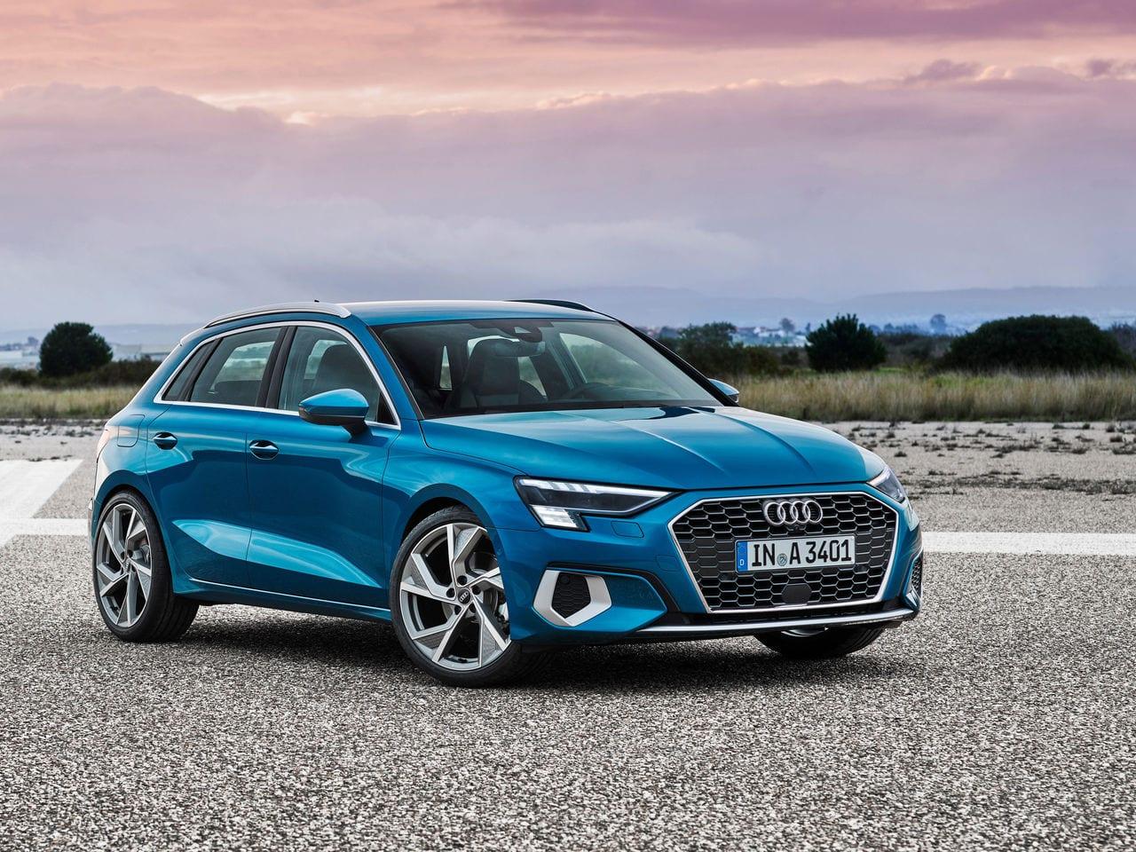 Audi A3 Sportback Driving Test