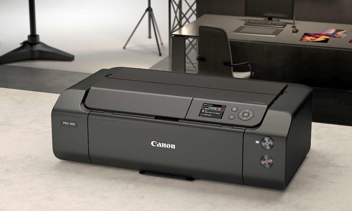 "Canon imagePROGRAF PRO-300 13"" Professional Φωτογραφικός Inkjet Printer"