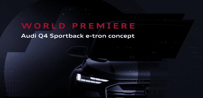 2021 Audi Q4 Sportback e-tron Concept