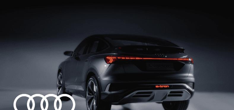 2020 Audi Q4 Sportback Ε-Τron Concept