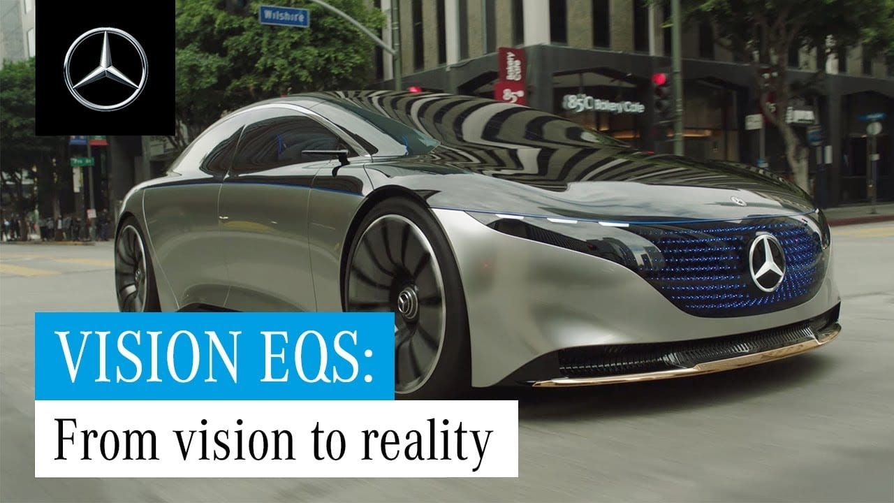 Mercedes EQS – From Vision to Reality