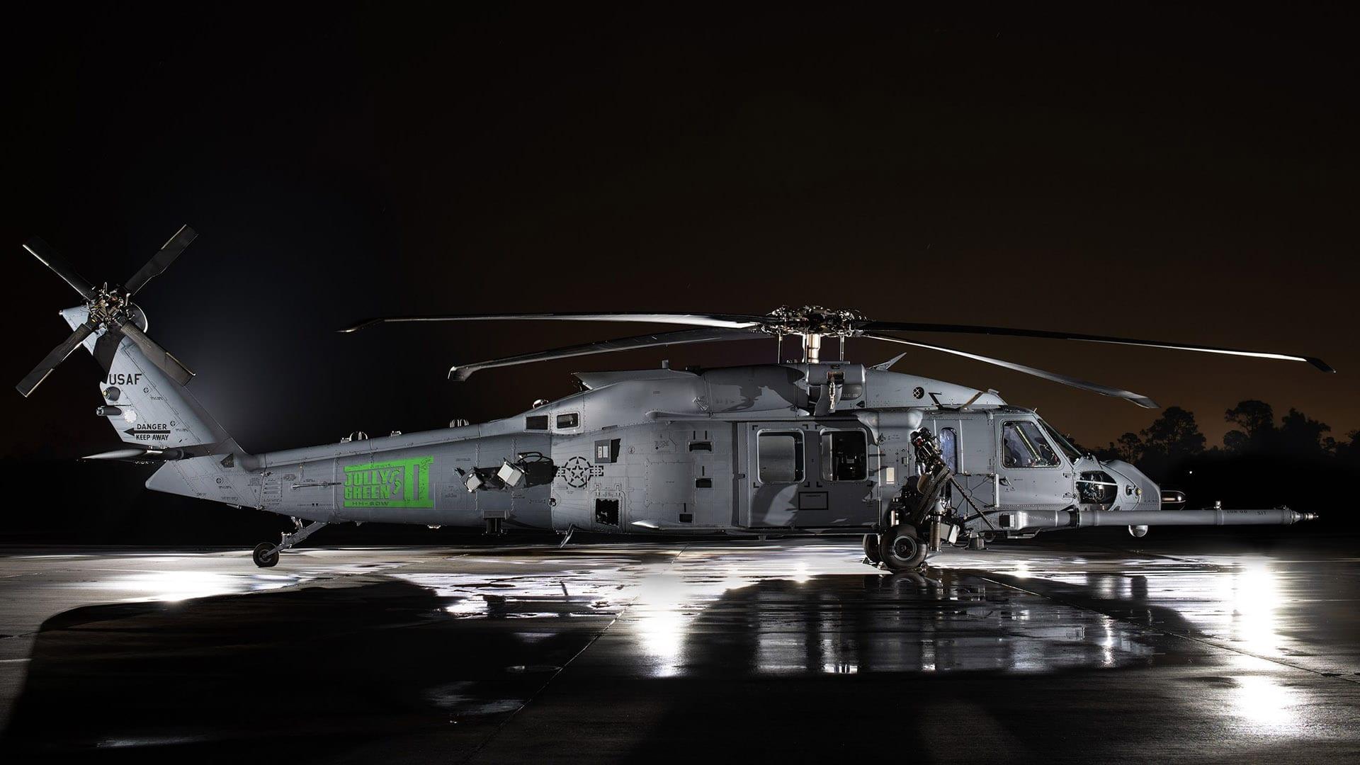 """Δοκιμές για το special HH-60W """"Jolly Green II"""""""