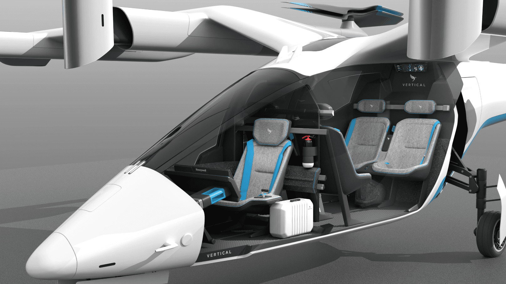 Vertical Aerospace VA-1X – Εναέριο Ταξί τεχνολογίας eVTOL