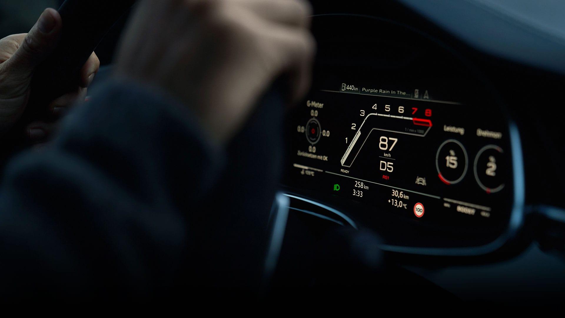 Audi RS Q8 Virtual Cockpit