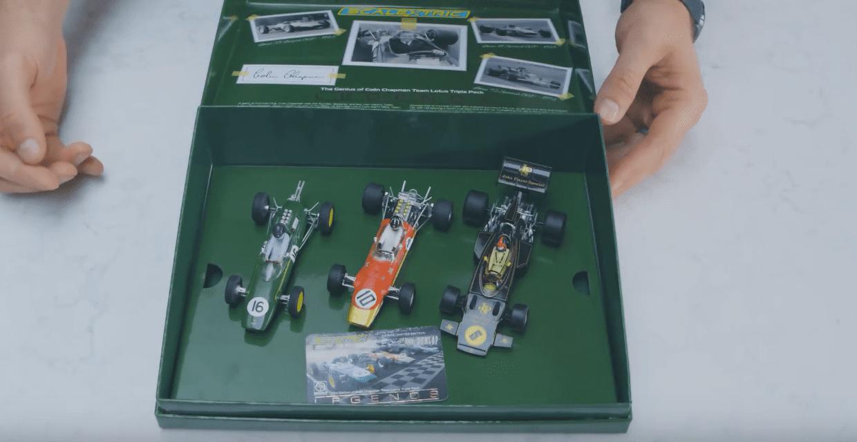 Scalextric Lotus GP Triple Pack