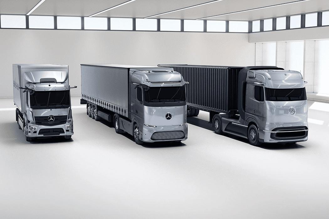 Ηλεκτρικά Mercedes-Benz Φορτηγά