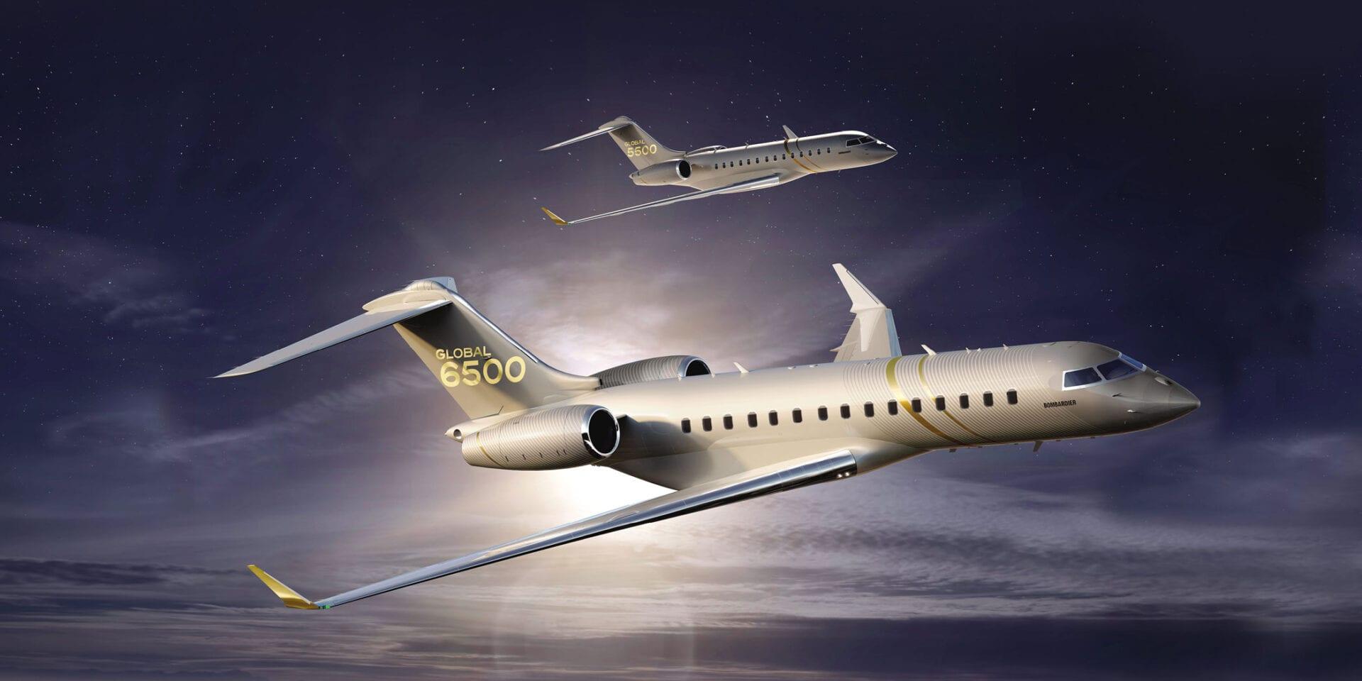 To νέο Bombardier Aviation Global 6500