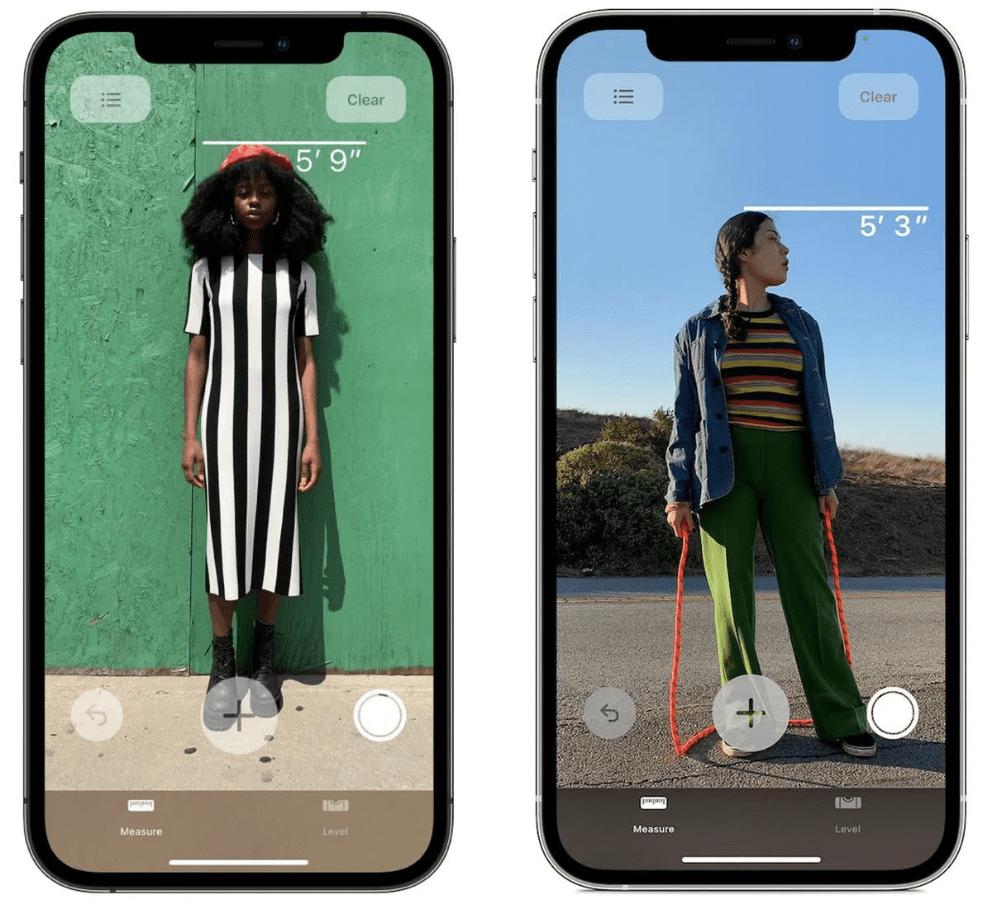 Measure – To iPhone 12 LiDAR Scanner μετρά