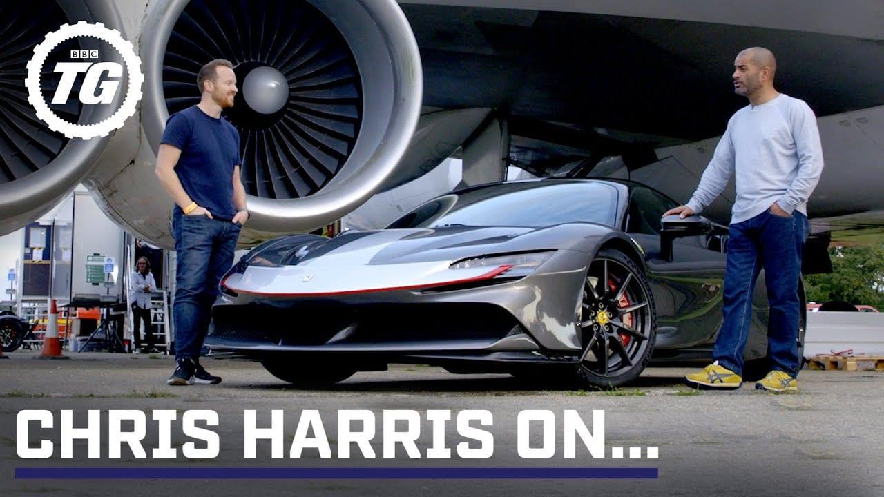 Chris Harris + Ferrari SF90 Stradale