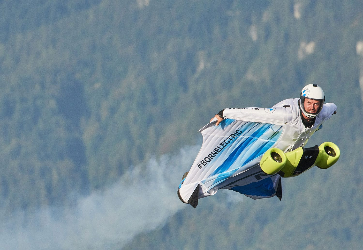 BMW i Electrified Wingsuit