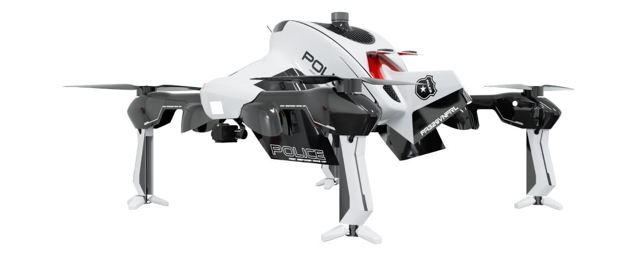Recruit Quadcopter για Επείγουσες Καταστάσεις