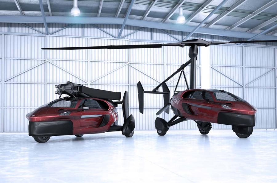 Ιπτάμενο Αυτοκίνητο Liberty PAL-V