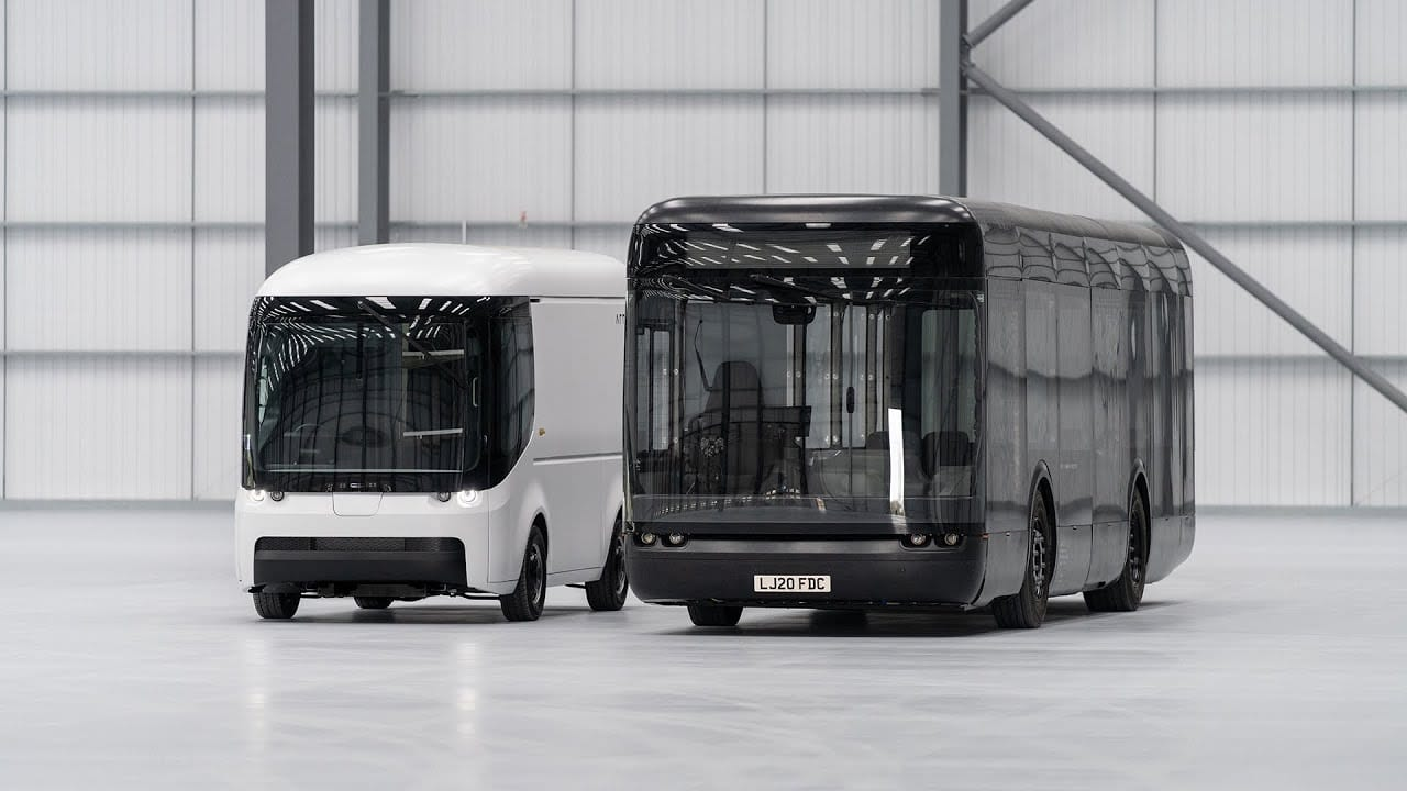 Arrival – Ηλεκτρικό λεωφορείο και βαν next gen