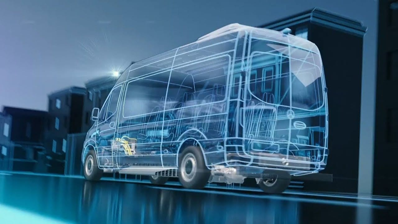 2021 Mercedes eSprinter