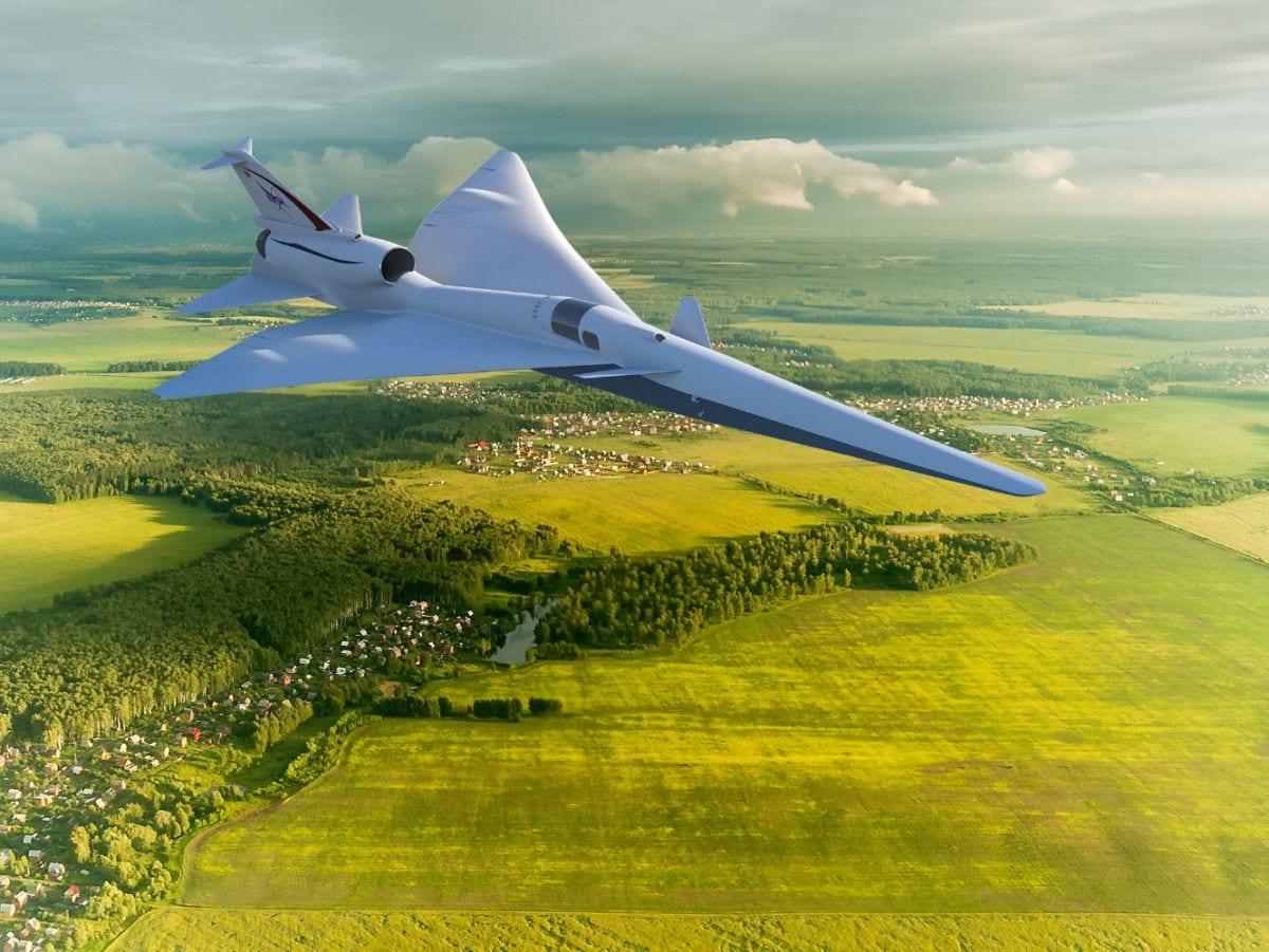 Η εξέλιξη του Low-Boom Flight Demonstration