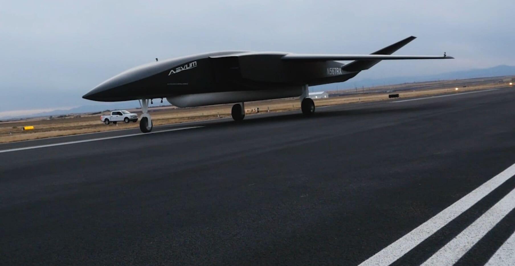 Aevum Ravn X Autonomous Launch Vehicle