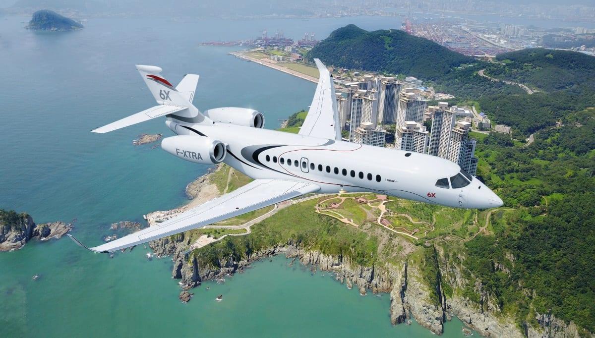 Το νέο Dassault Aviation Falcon 6X
