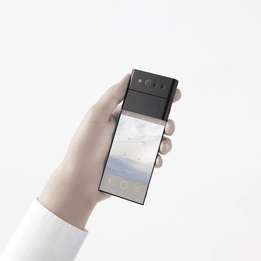 Οppo Nendo Slide Phone Concept