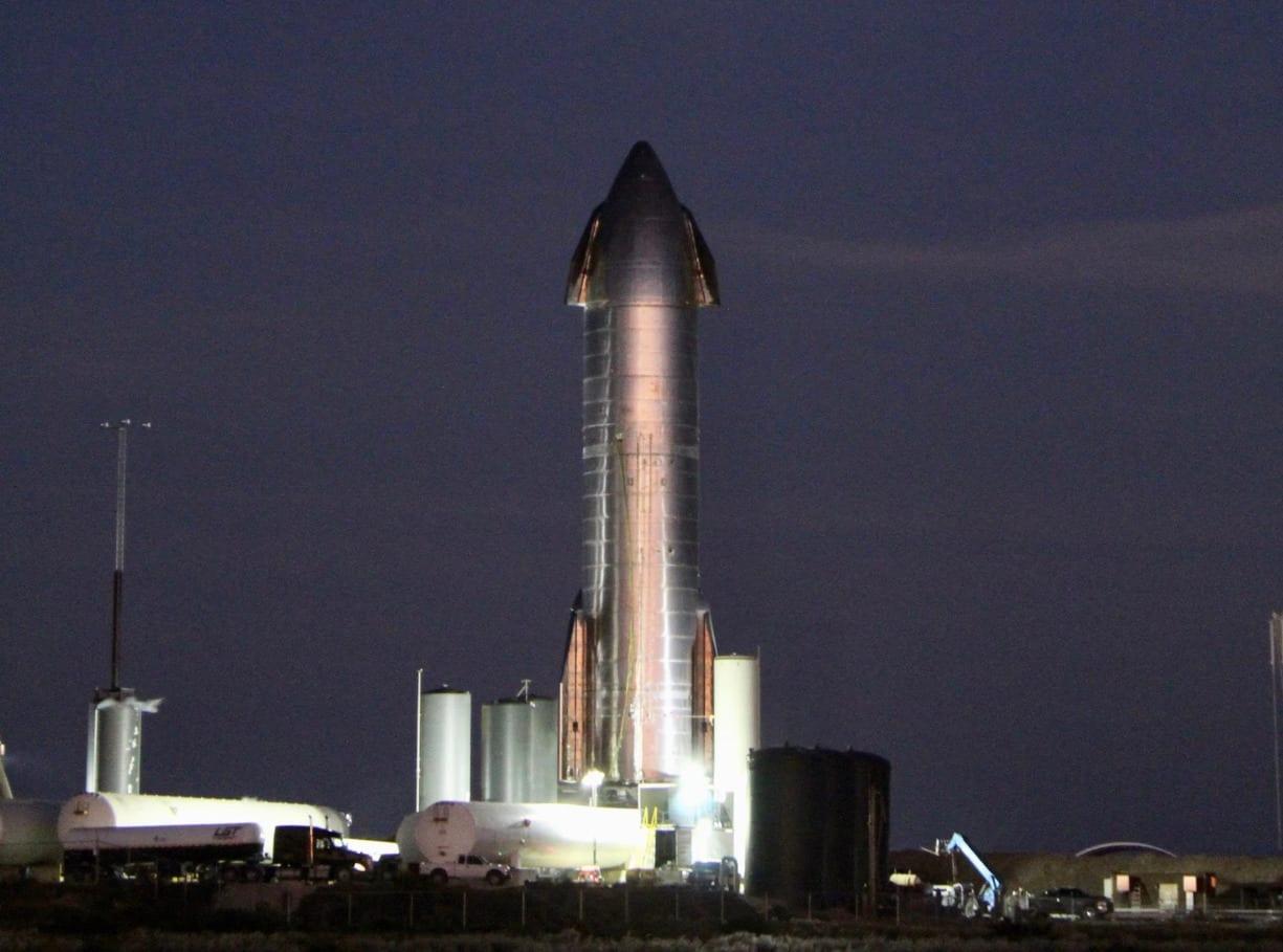 Starship SN8 – High-Altitude Flight Recap