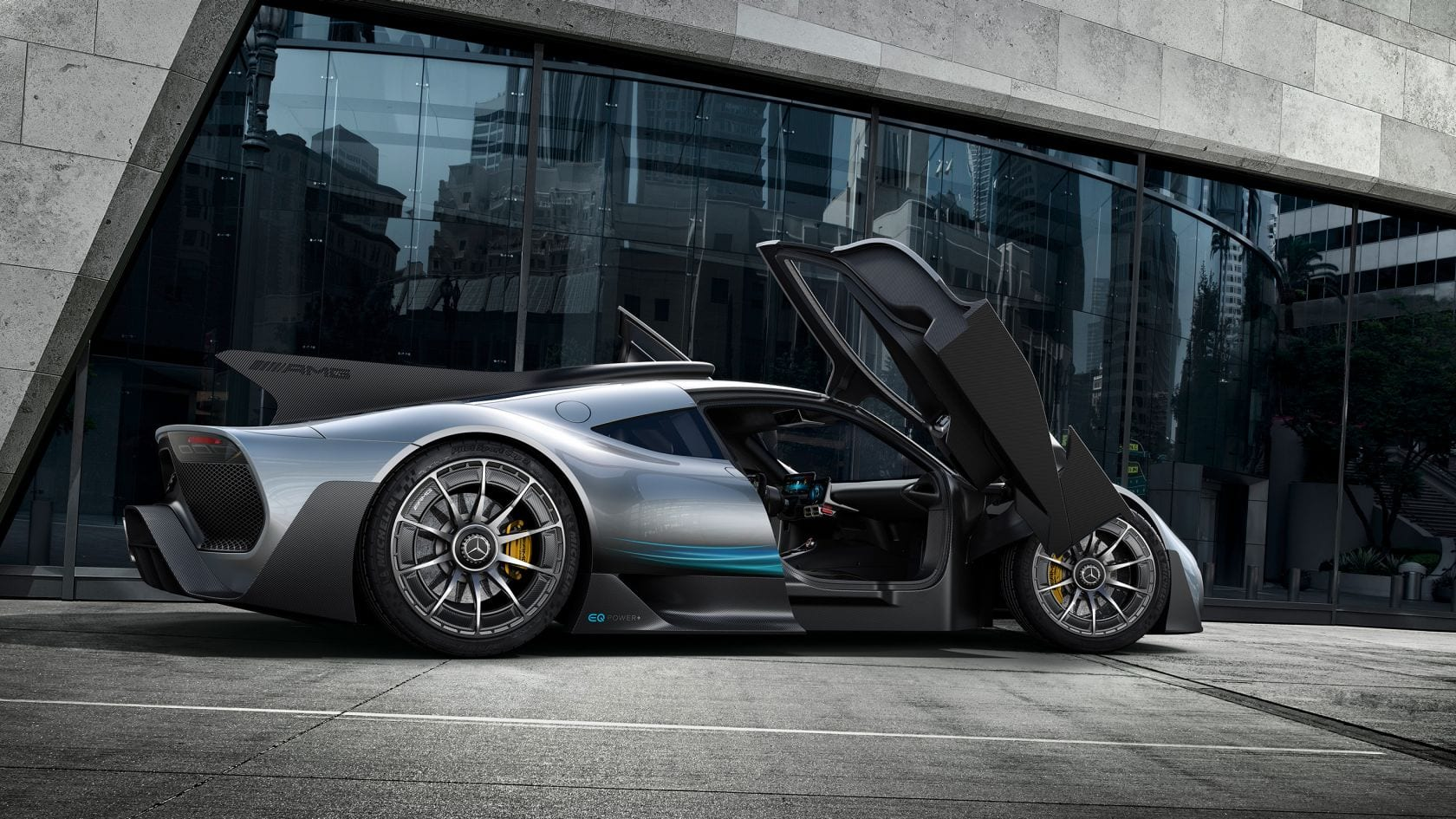 Simulator + Mercedes-AMG Project ONE