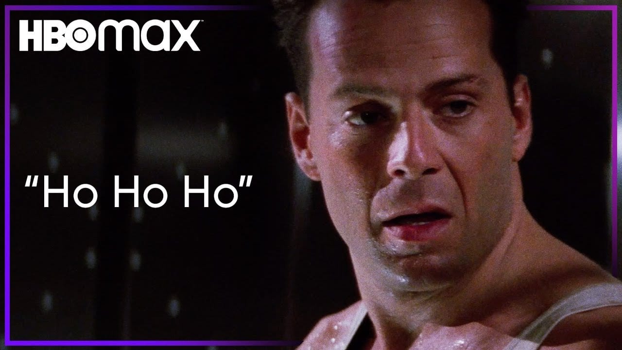 John McClane Sends a Message To The Christmas Party