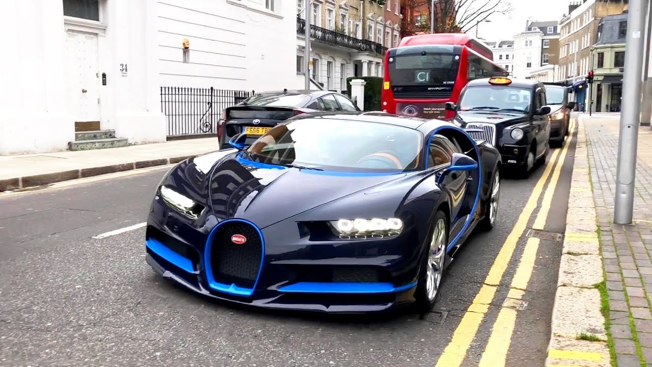 Supercars in London December 2020