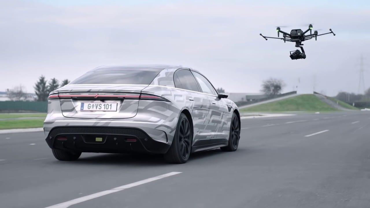 CES 2021 – Airpeak 'τραβάει' το βίντεο του VISION-S Road Test